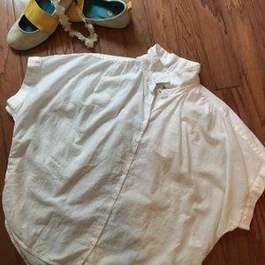 H&M cotton short sleeve blouse.